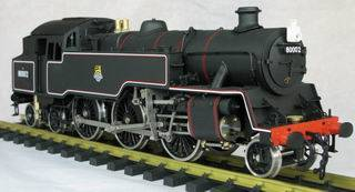 Steam train model - British 4MT