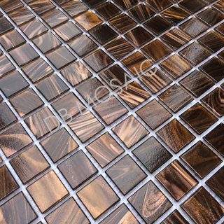 glass mosaic tiles goldline DB-GD018