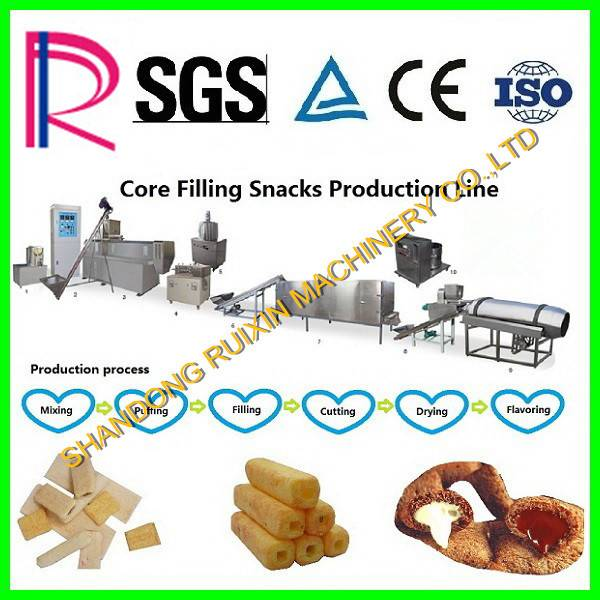 core filling snacks production line