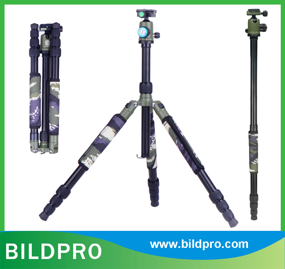 BILDPRO Nature Green 29mm Aluminum Alloy Tripod Leg Professional Camera Accessories
