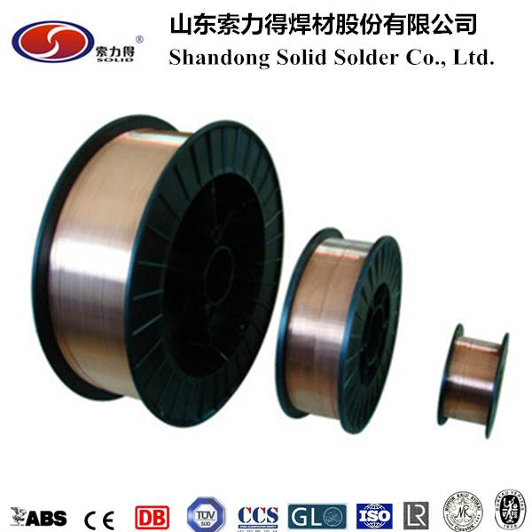 ER70S-6 welding wire manufacture China SG2 mig welding wire
