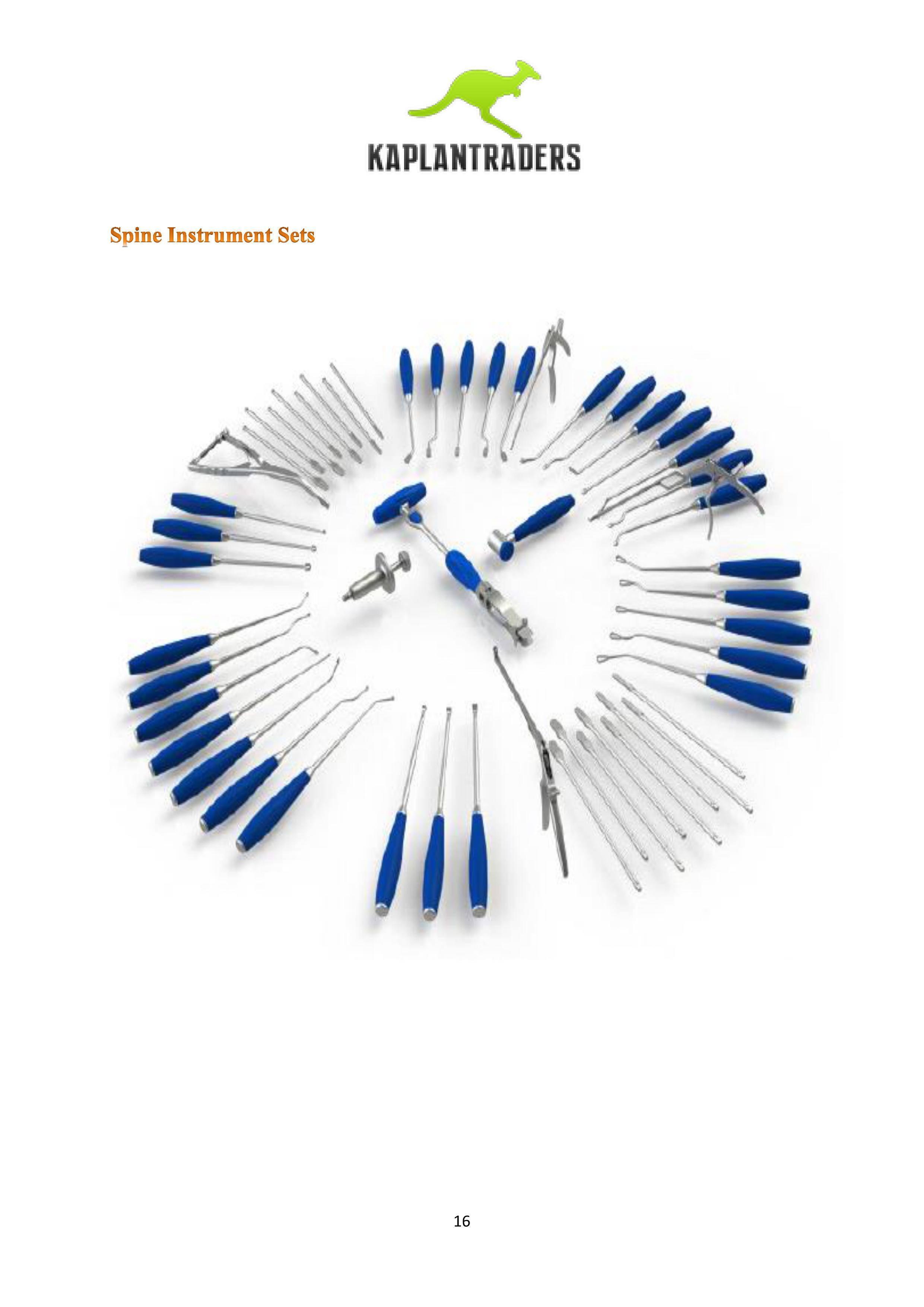 Spine Hand Instruments