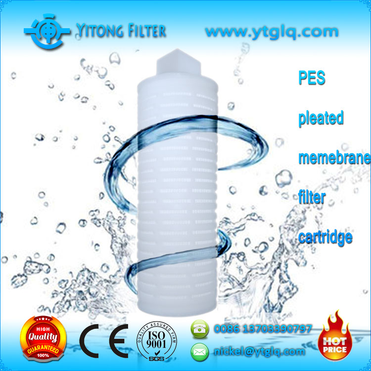 Pleated Membrane Filter Cartridge