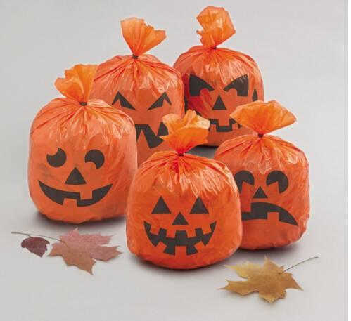 Fancy Gaint Halloween plastic Bag