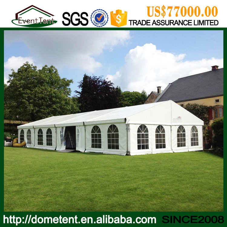 Clear Span 20m Outdoor Wedding Marquee Tent For 500 Peoples