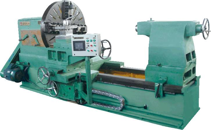 Heavy-Duty Horizontal Lathe Machine With Big-Bore Spindle