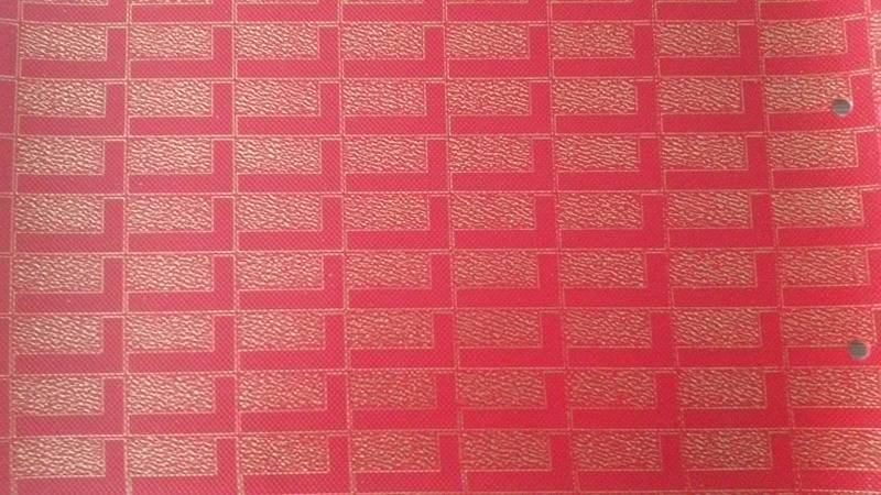 embossing pu leather