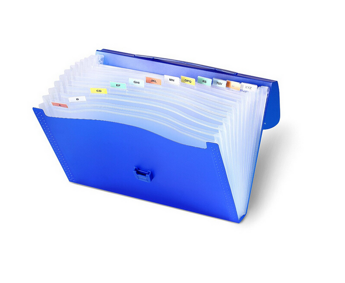 Wholesale A4 size Plastic expanding file folder with pockets from China factory