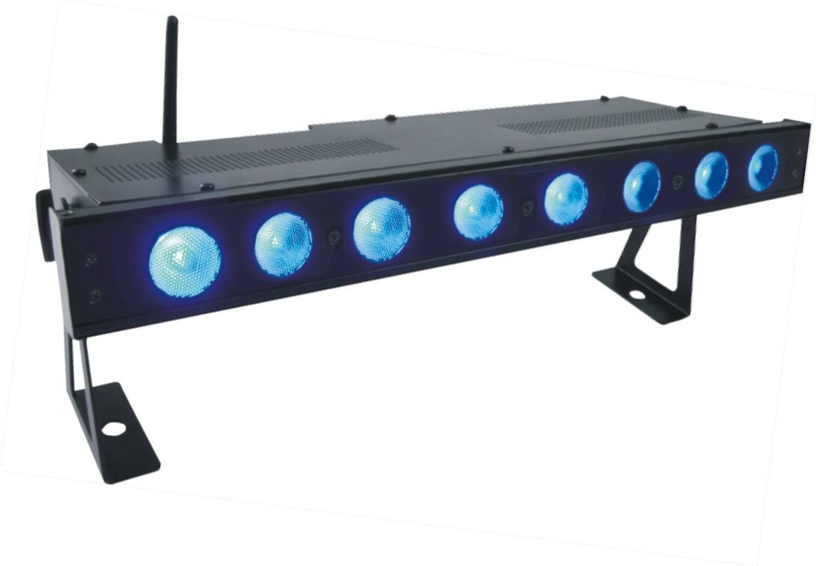 battery wireless DMX stage freedom bar light