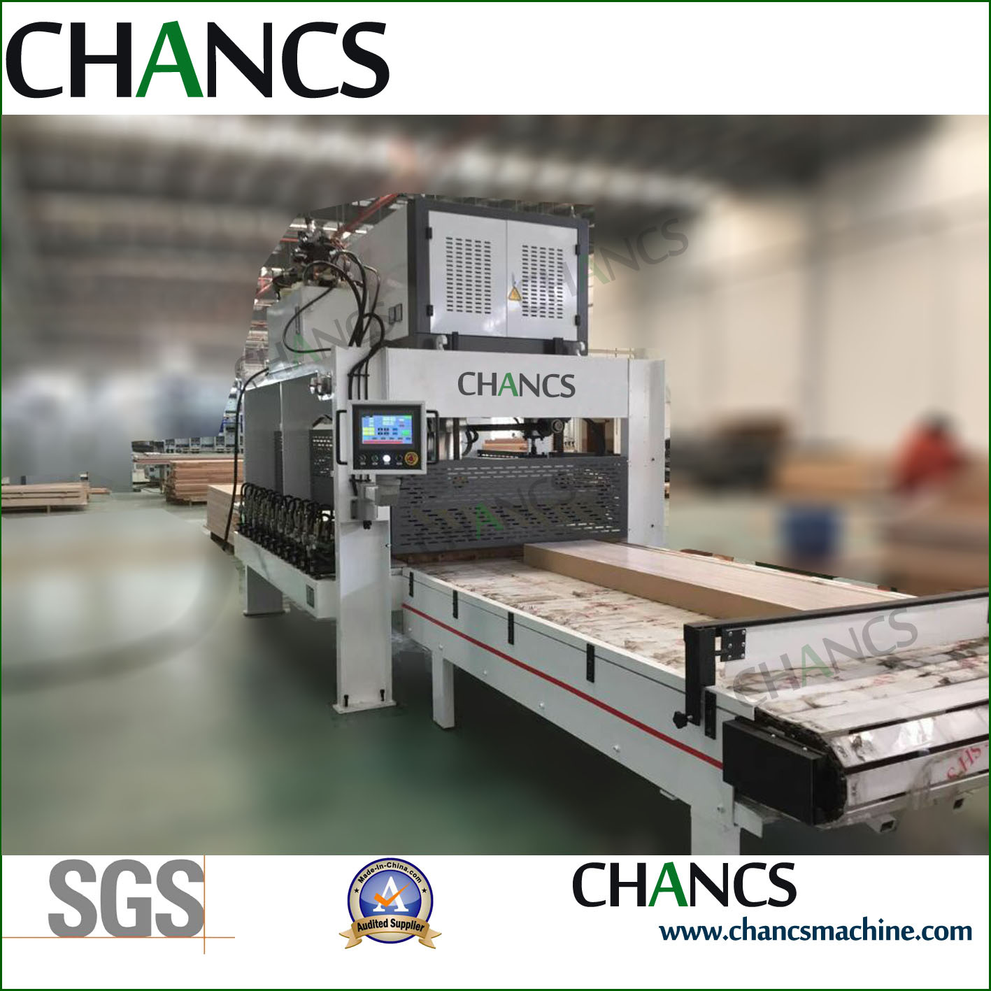 Laminating Press with High Frequency Heating
