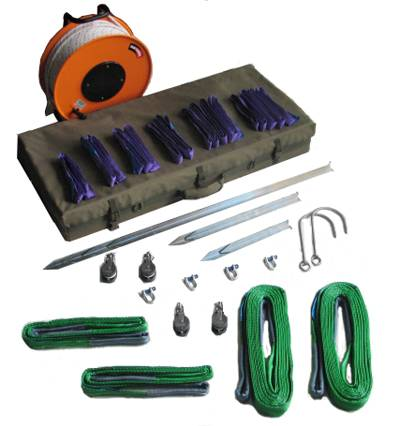 MK3 Hook & Line Kit Vehicle Towing and Moving Kit