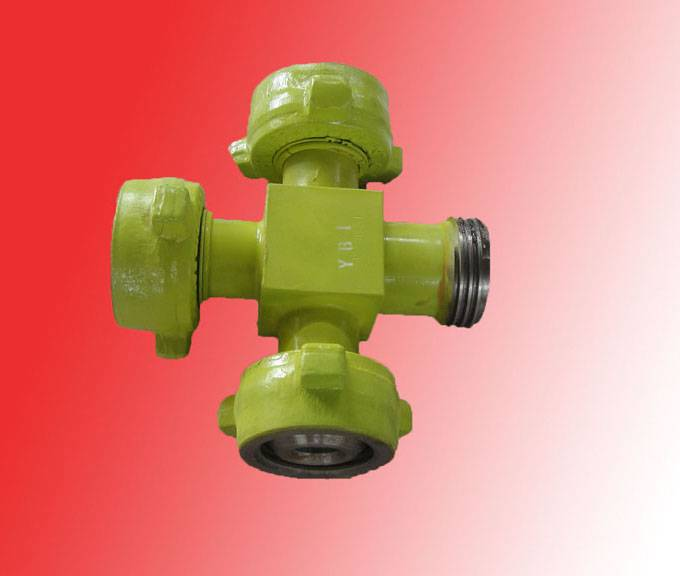 "2"" Fig1502 Integral pipe fitting Union Cross (MXMXMXF)"