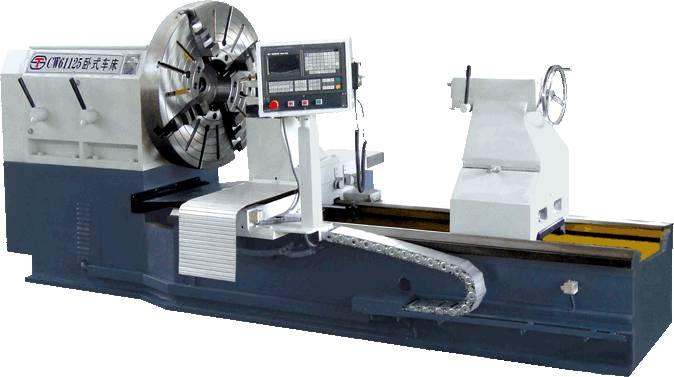 Large - Diameter CNC Horizontal Lathe For Idustrial / Rubber / Mine Machinery