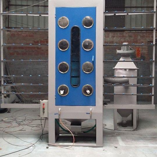 Manual Vertical Glass Sandblasting Machine