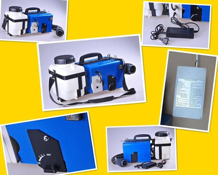 OR-DP3Z Battery ULV Cold sprayer / Rechargeable Lithium Battery Sprayer ULV