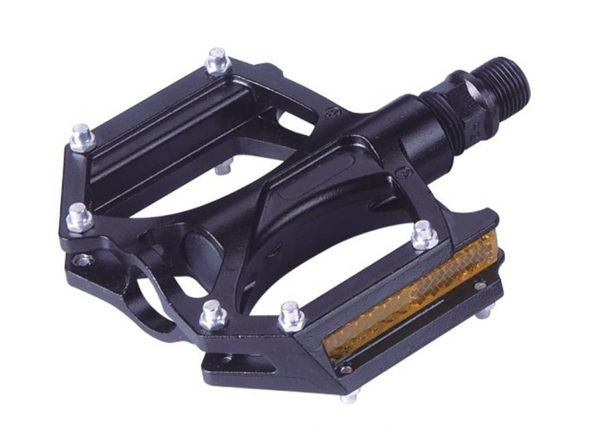 2013 new design very durable plastic bicycle pedals with bike parts
