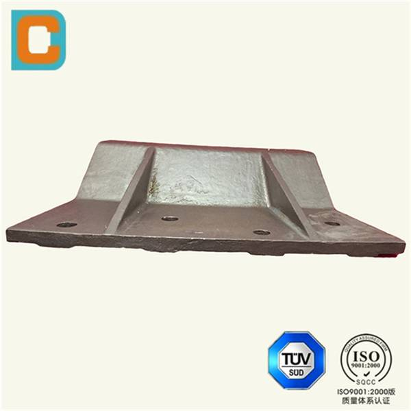 Steel Lost Foam Castings plate Customized