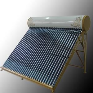 Colored Steel Non-pressurized Solar Water Heater
