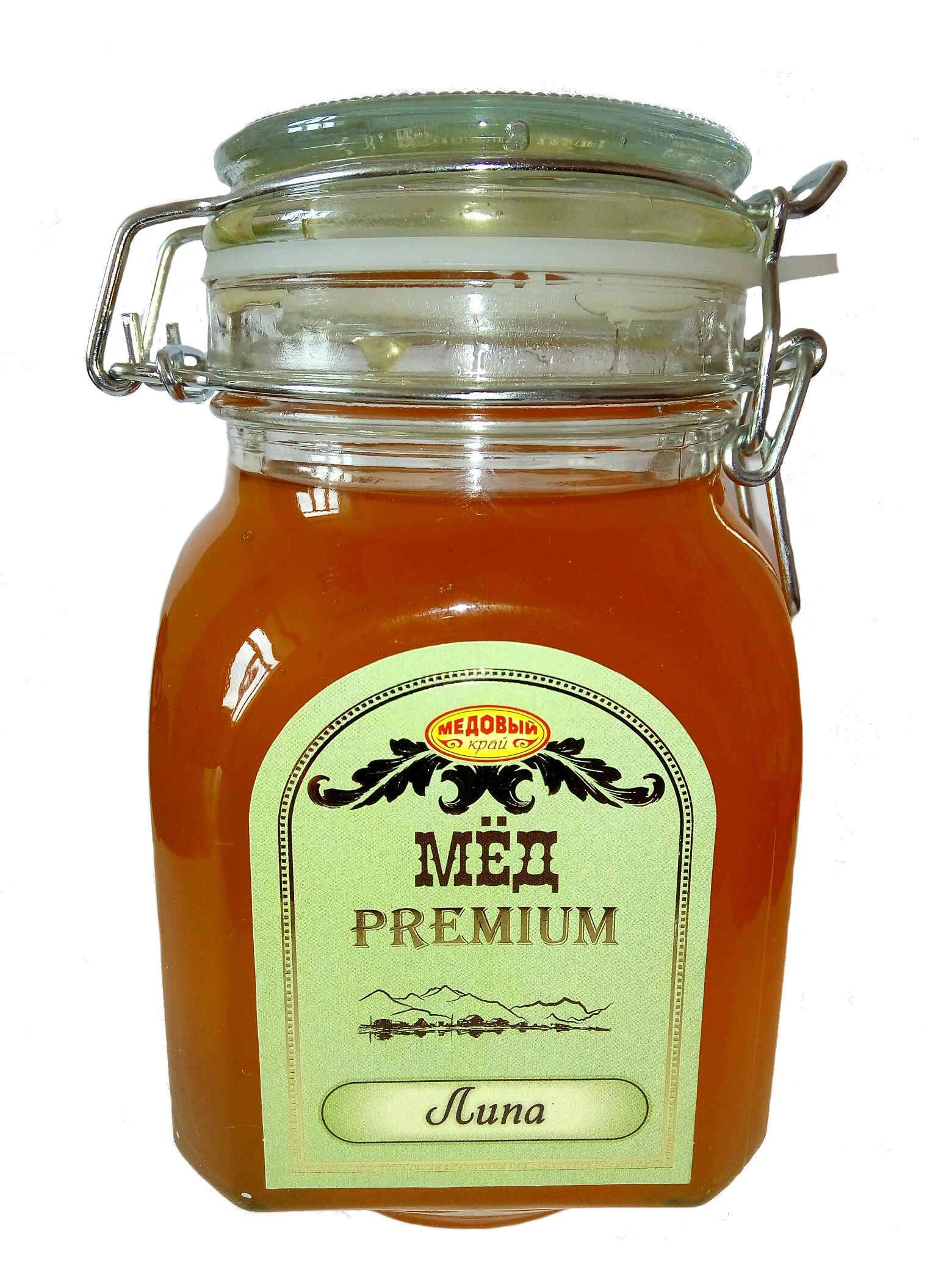 Natural honey Linden Russia