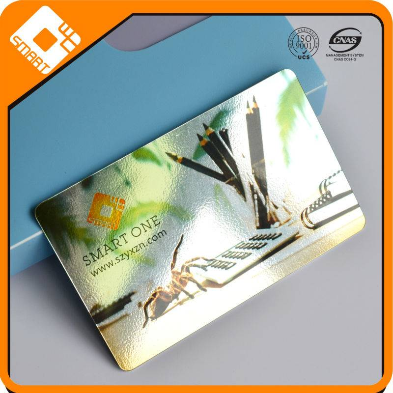 Hight quality and Competitive price Plastic laser card