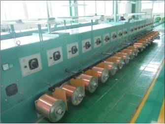 FUCHUAN ® FC-T40 Normal wire high speed annealing machine with high performance