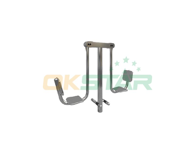 urban park workout equipment Leg press double