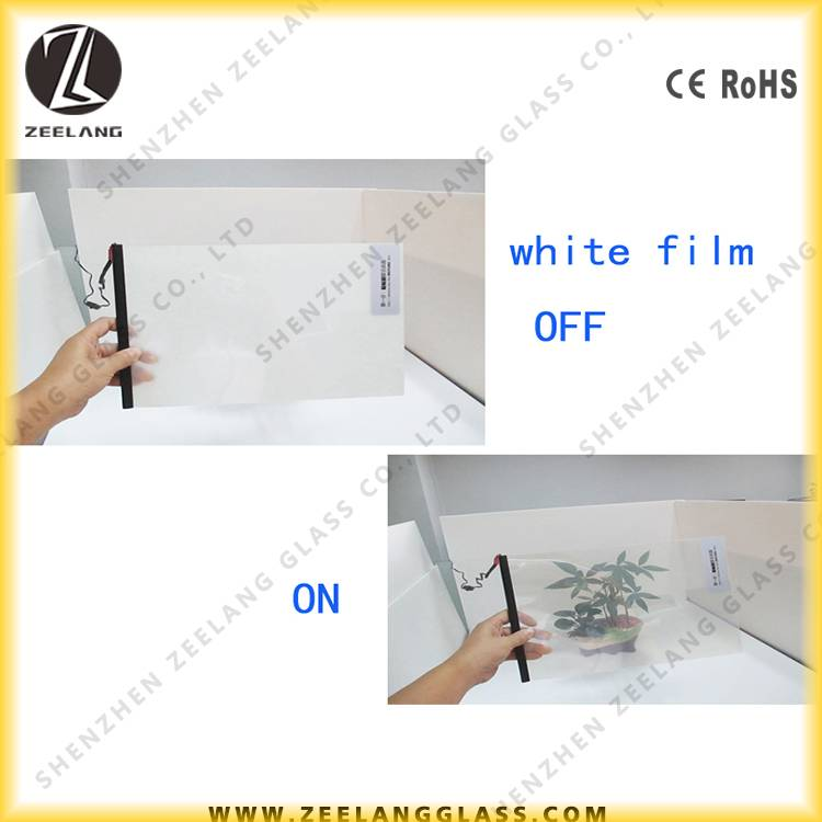 Light switchable privacy protect smart window film