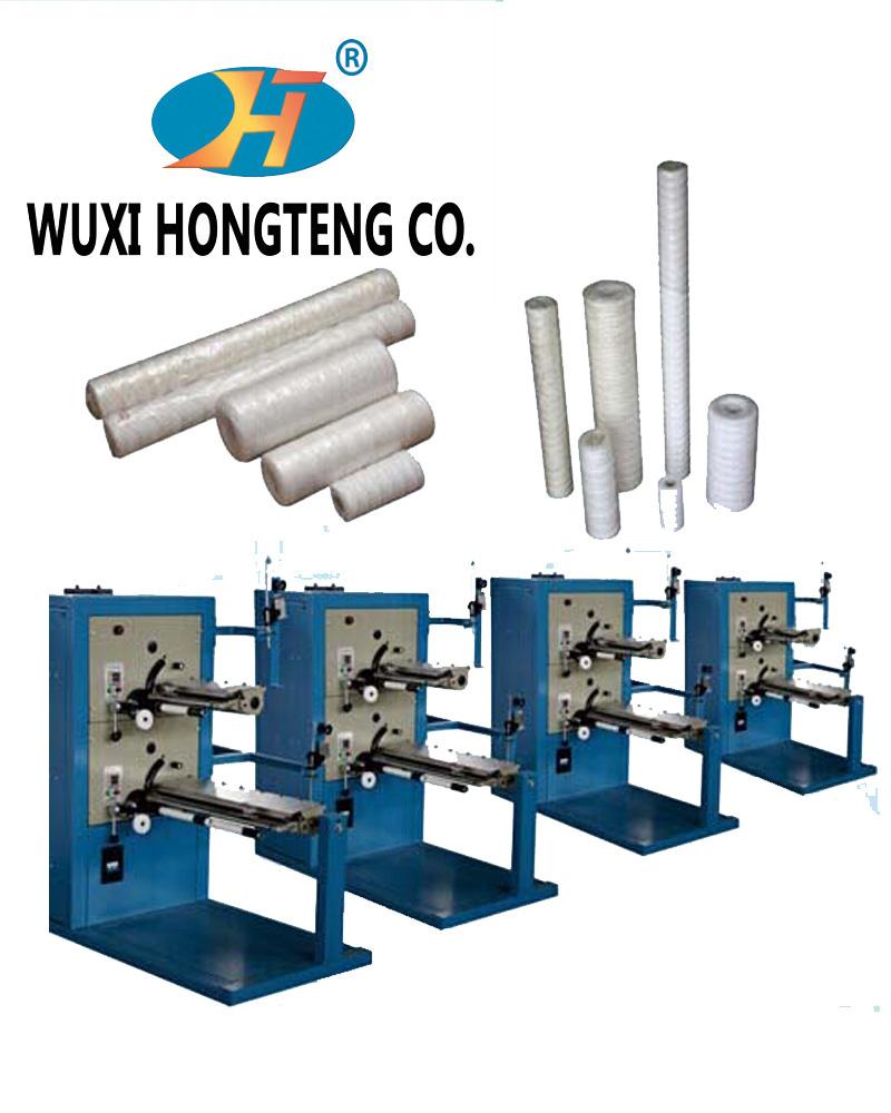 PP winding filter making machine