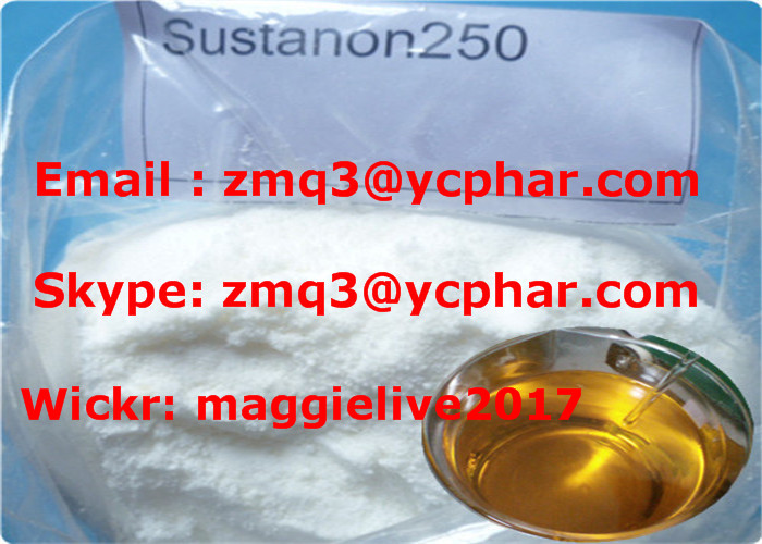 Anabolic Raw Steroids Powder Semi-Finished Oil Testosterone Sustanon 250 250mg/Ml