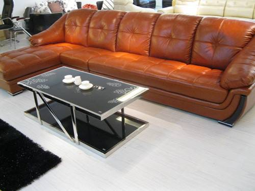Sectionals leather sofa h158