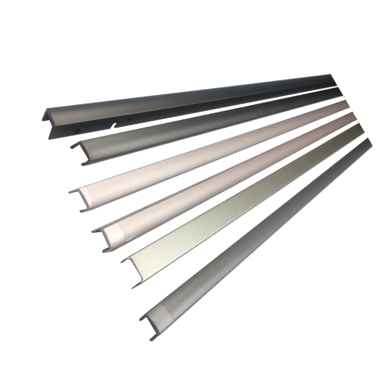 Manufacturer Polished / Laser Cutting Sheet Metal Edge Trim Aluminum Edging Strip