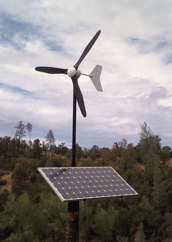 wind turbine black 300