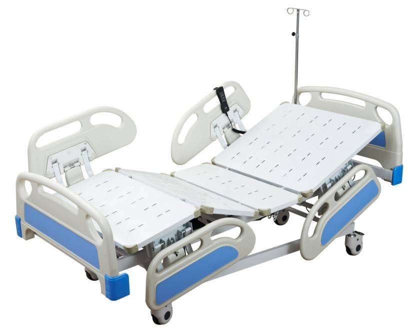 ABS Five Functions Electric Bed ICU care bed manufacturers
