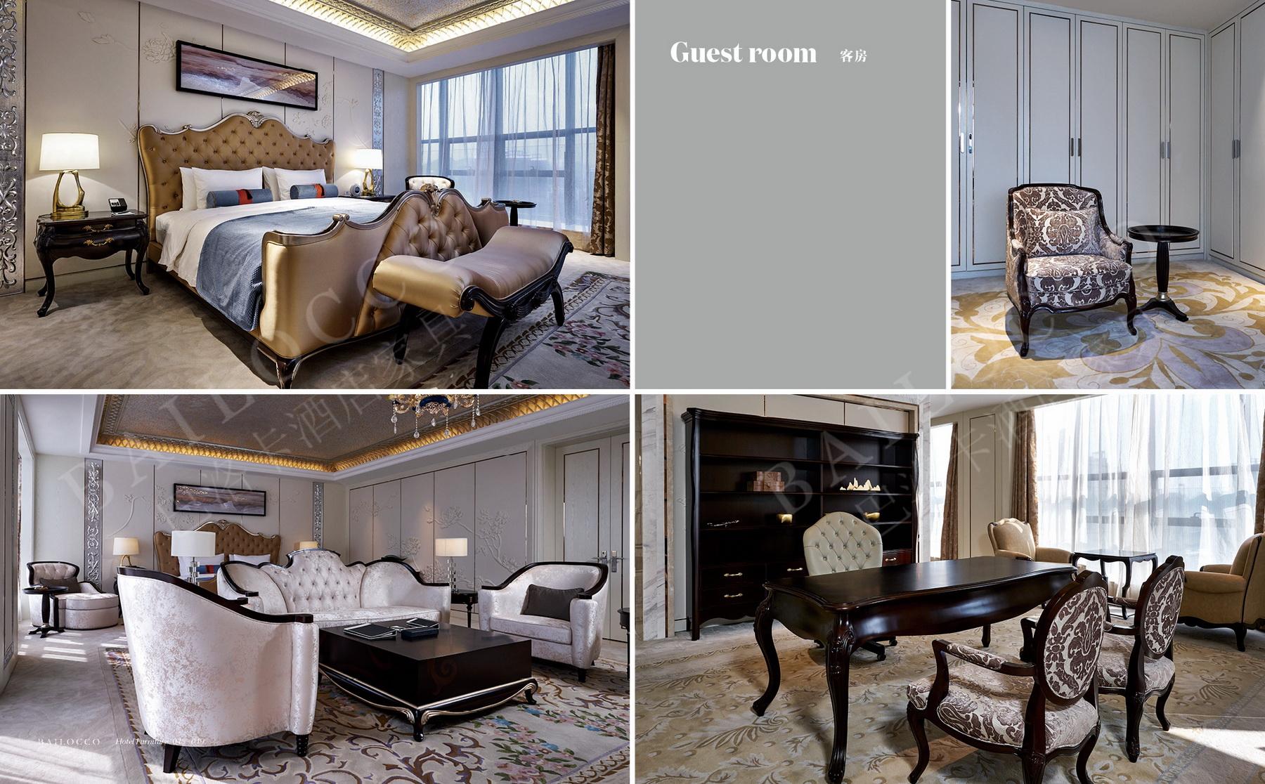 Bailocco hotel room set