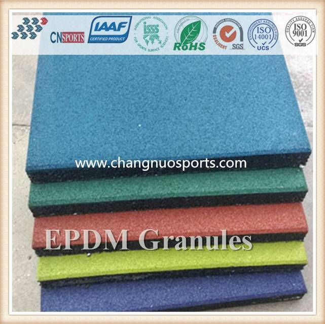 Colorful EPDM Rubber Granules-for running track, sports flooring