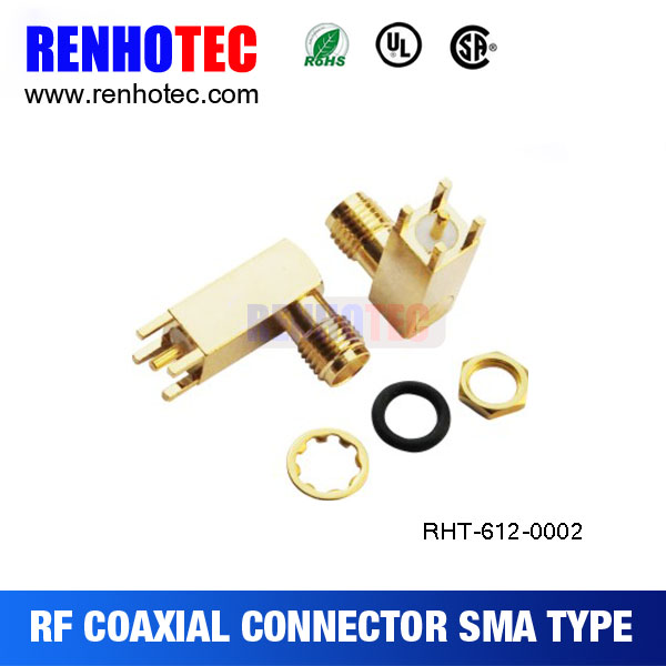 high performance metal sma connector assembly