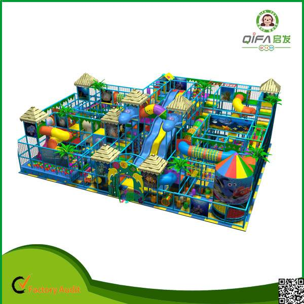 Kids indoor playground equipments