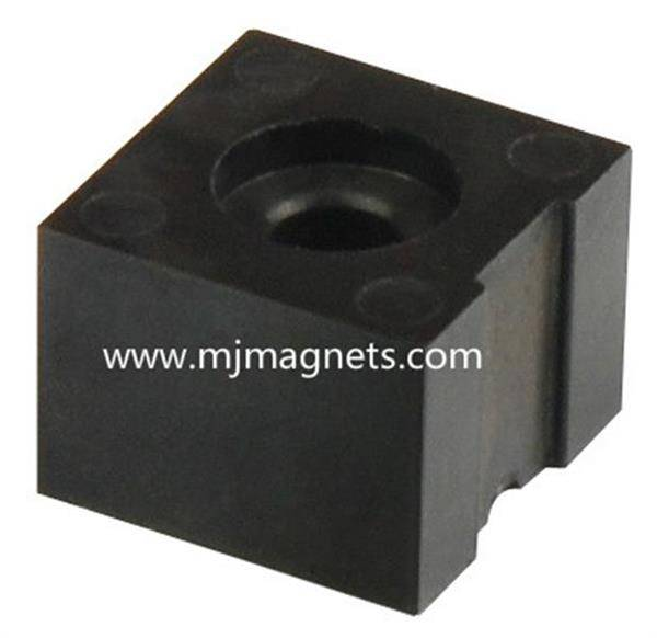 plastic injection bonded magnetic component