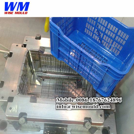 Cheap plastic crate mold/beer crate mould/injection basket molds -CHINA supplier