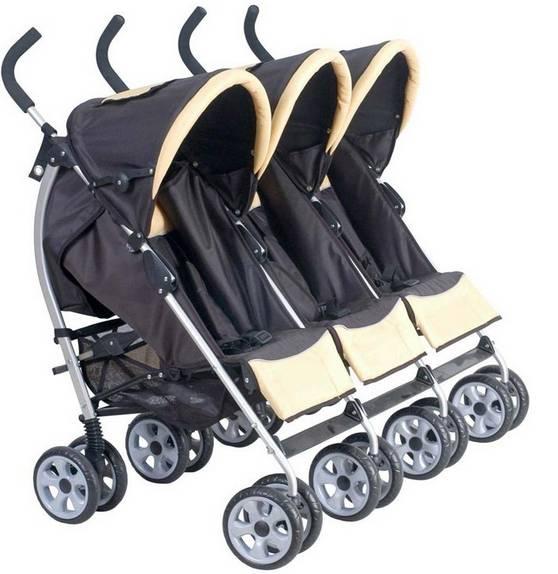 Best Baby Triple Strollers For Toddlers 3-in-1 en1888