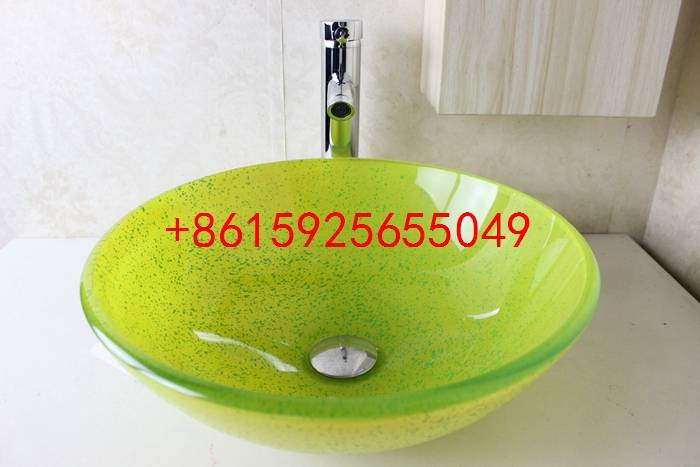 bathroom basin,glass sink,wash basin vessel sink wash sink bathroom cabinet sink n-735