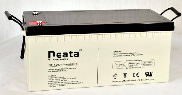 Deep Cycle Battery 12V200ah (ISO, CE, UL, RoHS, REACH)