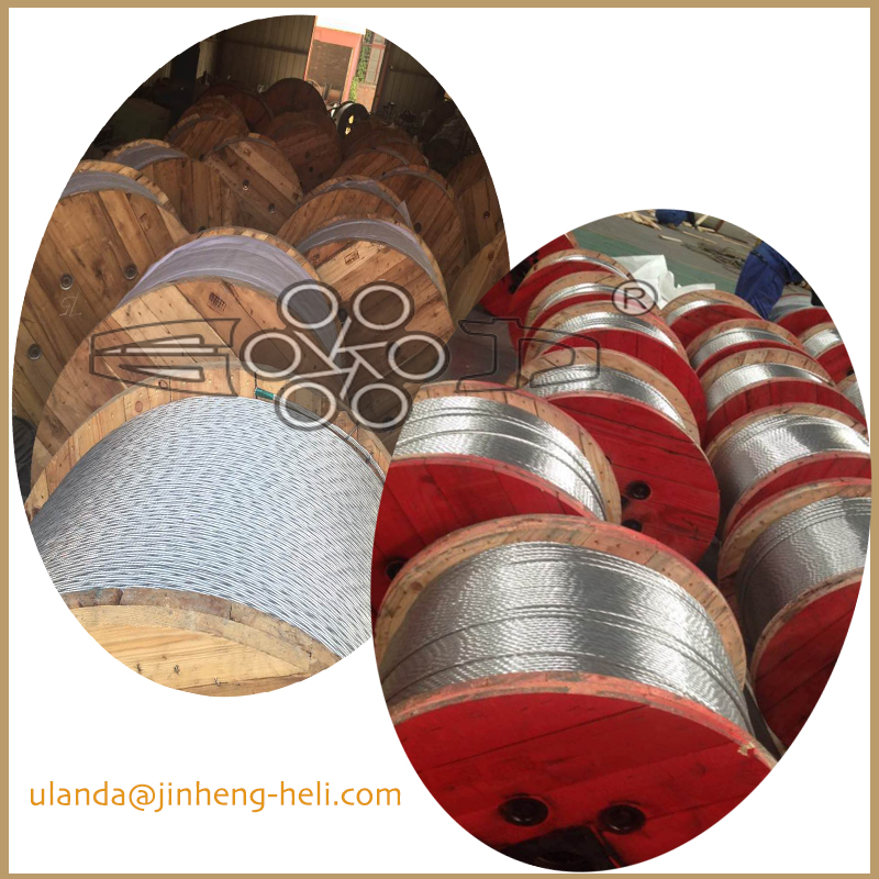 Galvanized steel wire strand for guy wire ASTMA 475