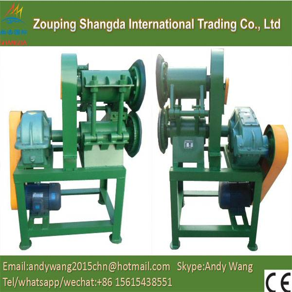 Used /waste tyre lump cutter
