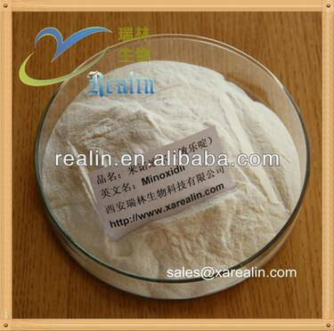 Pharmaceutical Intermediates White crystal powder Minoxidil