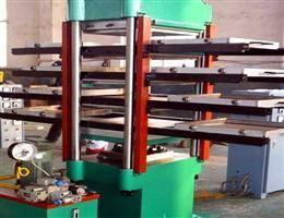 rubber vulcanizing press