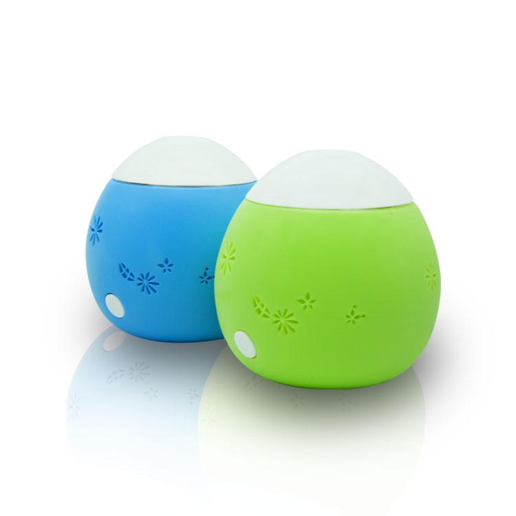 Ultrasonic Humidifier 60ml Egg Plastic Colorful USB Homedics Personal for Office