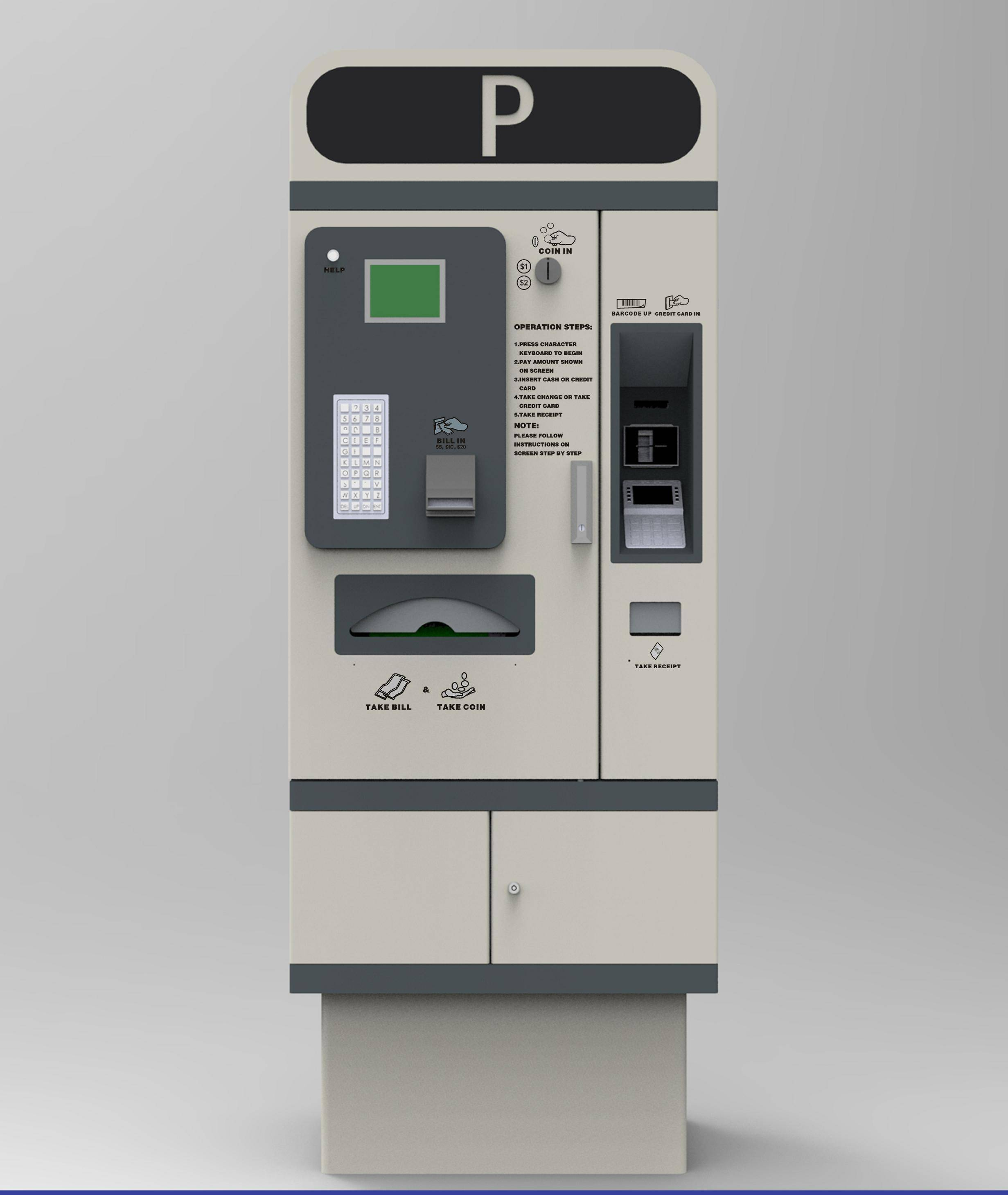 china payment kiosk machine with software and hardware