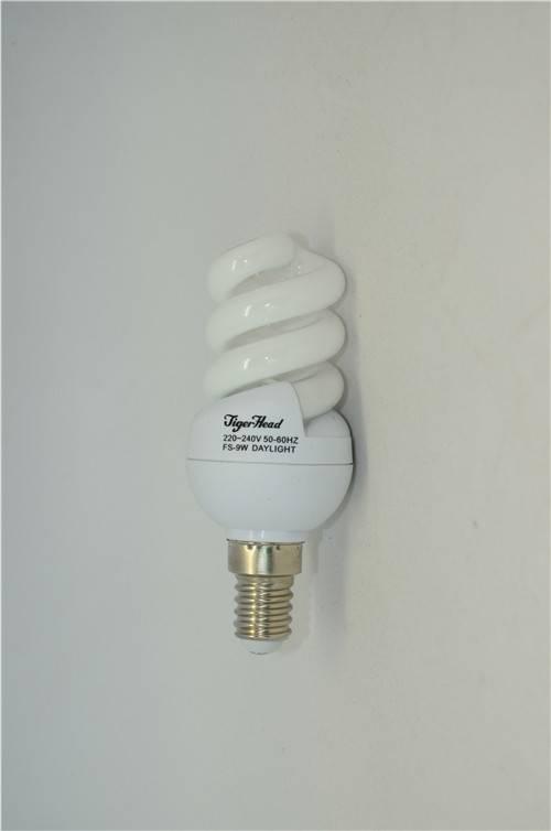 Full Spiral Energy Saving Light FS-9W E14