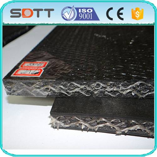 Solid Woven Conveyor Belt PVC